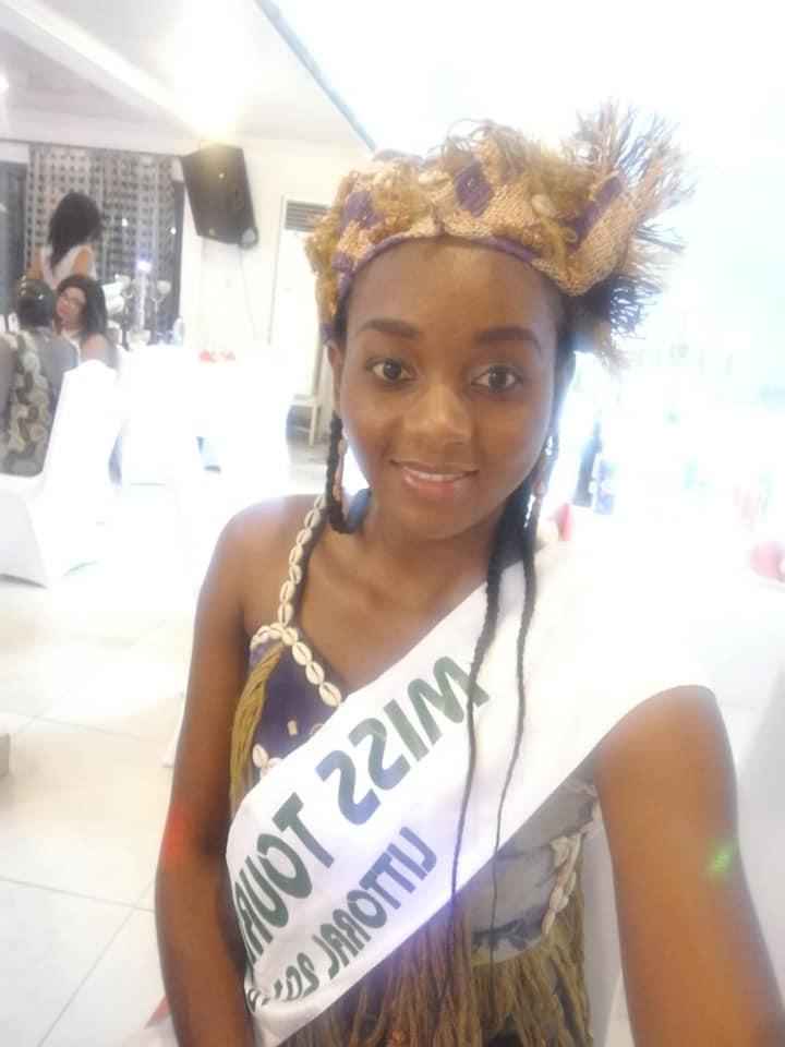 Loriane FOKOU - Miss Tourisme Littoral Cameroun 2016