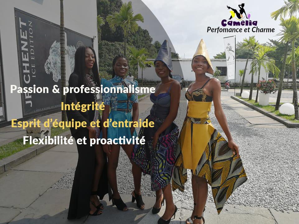 Valeurs - Camélia Cameroun