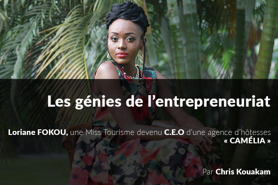 Loriane FOKOU C.E.O de CAMELIA Cameroun