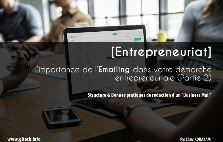 """Emailing - Structure & Bonnes pratiques de rédaction d'un """"Business Mail"""""""