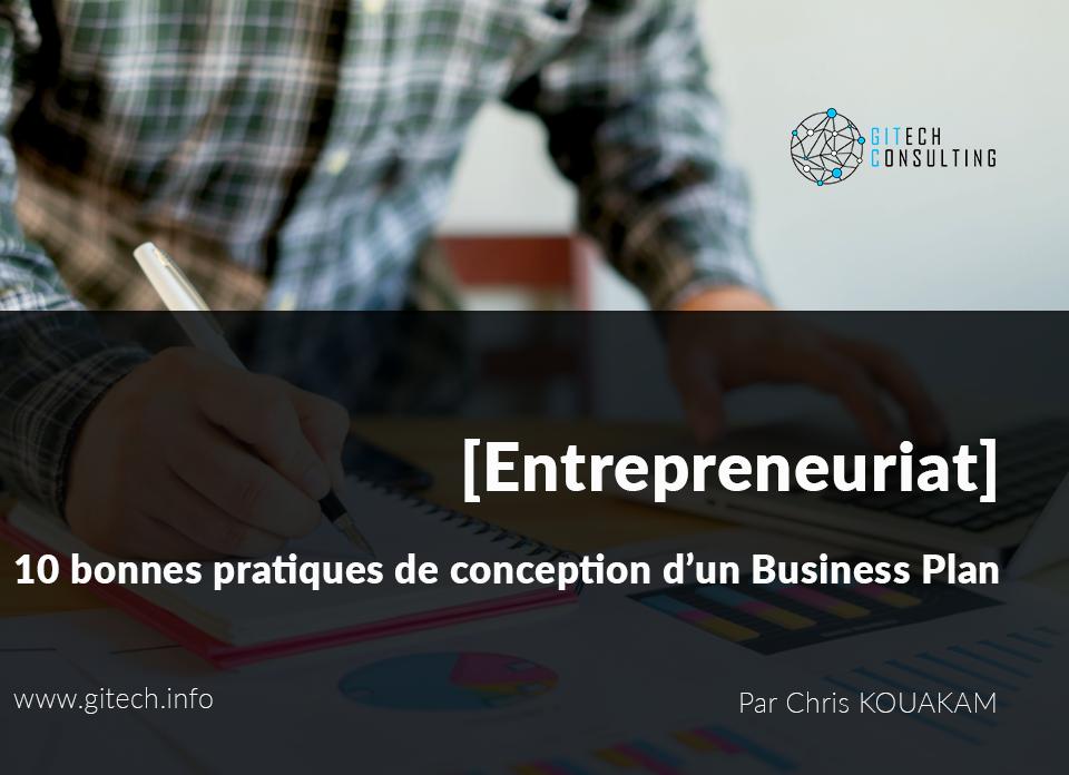 10 bonnes pratiques de conception d'un Business Plan